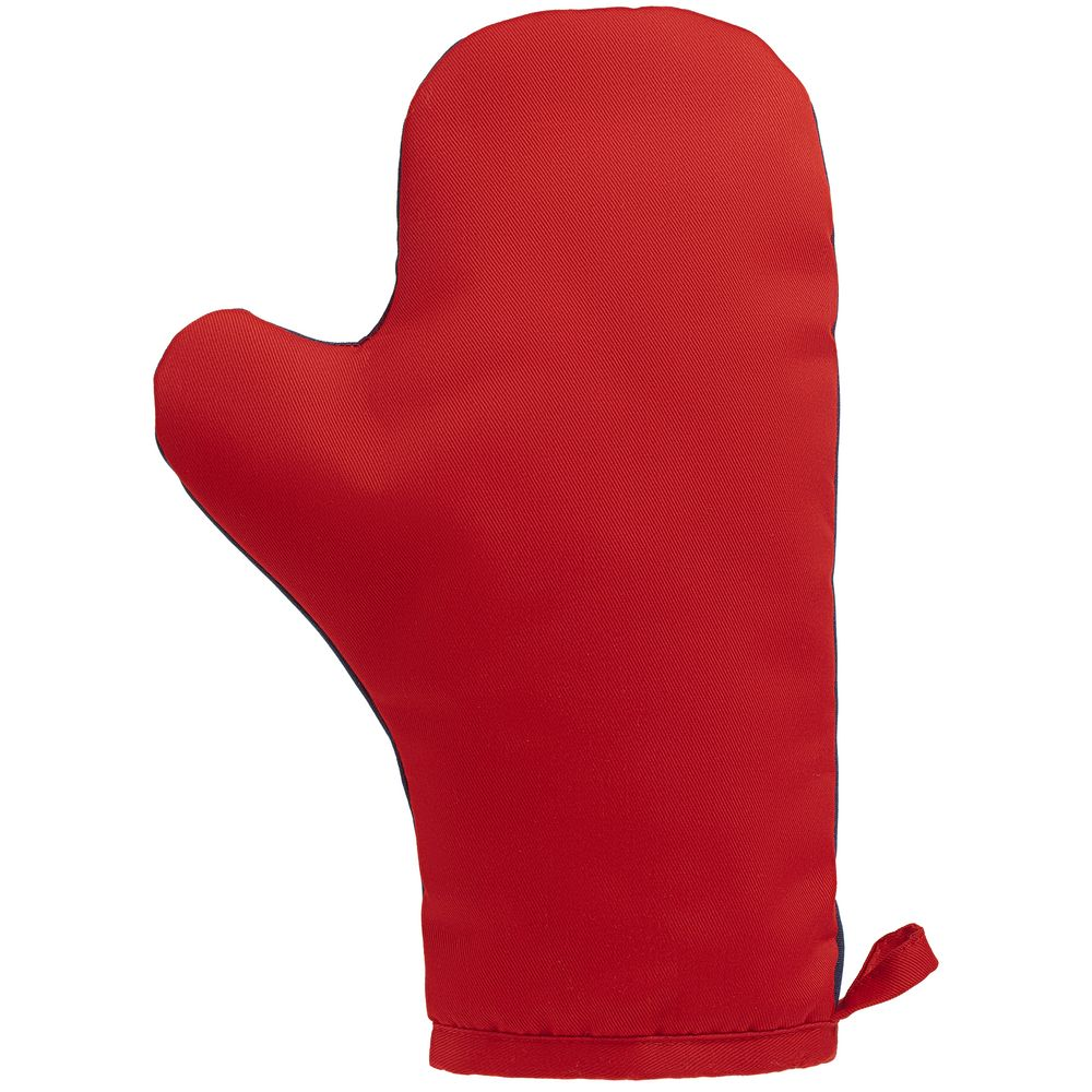 Прихватка-рукавица «Акцент», красно-синяя