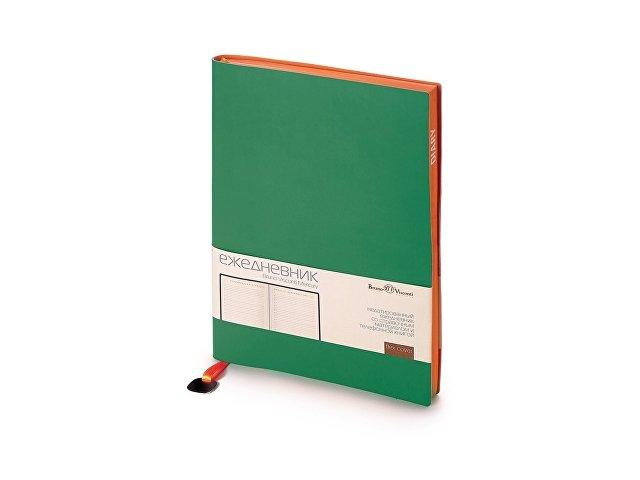Ежедневник А5 недатированный «Mercury», зеленый