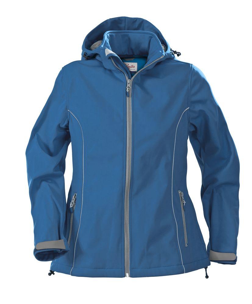 Куртка софтшелл женская HANG GLIDING, синяя