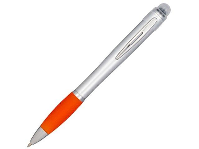 Nash серебряная ручка с цветным элементом, оранжевый