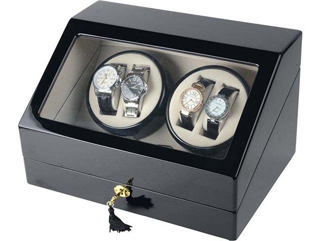 Шкатулка для часов с автоподзаводом «Люцерн», черный