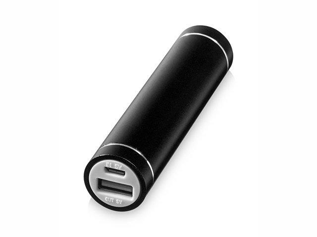 """Портативное зарядное устройство """"Bolt"""", 2200 мА/ч, черный"""