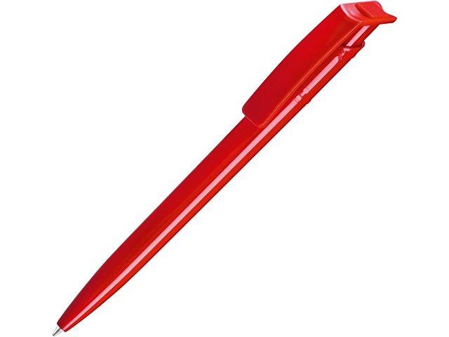 """Ручка шариковая пластиковая """"RECYCLED PET PEN"""", синий, 1 мм, красный"""
