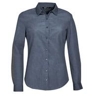 Рубашка BARNET WOMEN синий меланж (джинс)