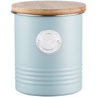 Емкость для хранения кофе Living, голубая
