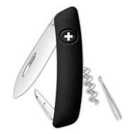 Швейцарский нож D01, черный
