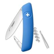 Швейцарский нож D01, синий