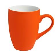 Кружка Best Morning c покрытием софт-тач, оранжевая