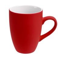 Кружка Best Morning c покрытием софт-тач, ярко-красная