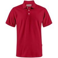 Рубашка поло мужская Sunset, красная