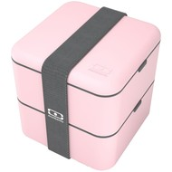 Ланчбокс MB Square, розовый