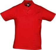 Рубашка поло мужская Prescott Men 170, красная
