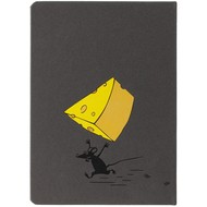 Ежедневник «Мышки-воришки», недатированный, серый