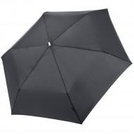 Зонт складной Fiber Alu Flach, серый