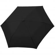 Зонт складной Carbonsteel Slim, черный