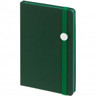 Блокнот Shall Round, зеленый