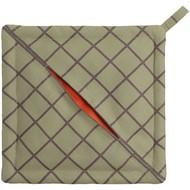Прихватка «Равиоли», квадратная, зеленая