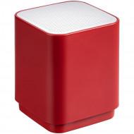 Беспроводная колонка с подсветкой логотипа Glim, красная