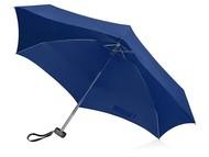 """Зонт складной """"Frisco"""", механический, 5 сложений, в футляре, синий"""