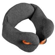Дорожная подушка Norwick, серая с оранжевым