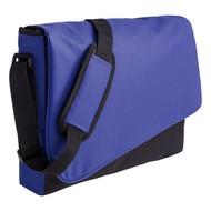 Конференц сумка Unit Messenger, сине-черная