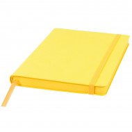 Ежедневник недатированный Shady, А5,  лимонный, кремовый блок, желтый обрез