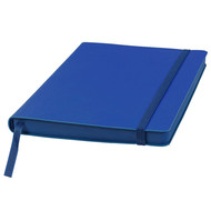 Ежедневник недатированный Shady, А5,  синий, кремовый блок, темно-синий обрез