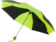 """Зонт Spark 21"""" трехсекционный механический, черный/зеленый"""
