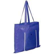 Складная сумка Unit Foldable, синяя