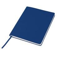 """Бизнес-блокнот """"Cubi"""", 150*180 мм, синий, кремовый форзац, мягкая обложка, в линейку"""