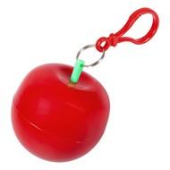 Дождевик в футляре «Фрукт», красное яблоко