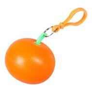 Дождевик в футляре «Фрукт», оранжевый мандарин