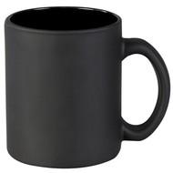 Кружка Foggy матовая, черная