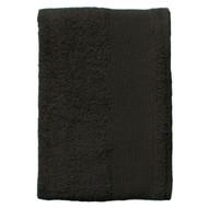 Полотенце махровое Island Medium, черное