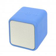 Колонка акустическая CUBIC FANTASY, силиконовый чехол, голубой