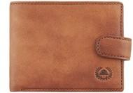 Кошелек Vintage, светло-коричневый (коньячный)