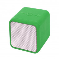 Колонка акустическая CUBIC FANTASY, силиконовый чехол, светло-зеленый