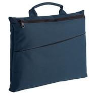 Конференц-сумка Lyon, темно-синяя