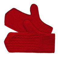 Варежки Comfort Up, красные
