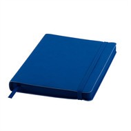 Ежедневник датированный Shady, А5,  синий ройал, кремовый блок, темно-синий обрез