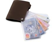 "Бумажник ""Valencia"", коричневый"