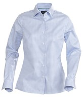 Рубашка женская в клетку TRIBECA LADIES, голубая