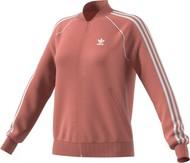 Куртка тренировочная женская на молнии SST TT, розовая