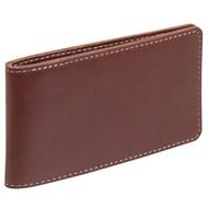 Футляр для пластиковых карт Security, темно-коричневый