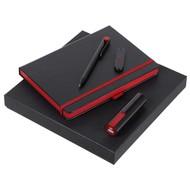 Набор Black Maxi, черно-красный