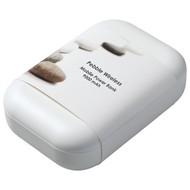 Аккумулятор с беспроводной зарядкой Pebble Wireless 9000 мАч, винный