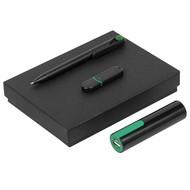 Набор Do It Black, черно-зеленый
