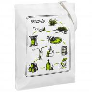 Холщовая сумка «Текила», молочно-белая