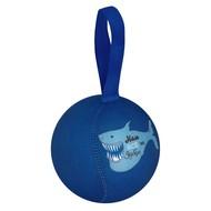 Шарик-антистресс с пожеланием «Акула», темно-синий