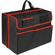 Органайзер в багажник автомобиля Carmeleon, черный с красным